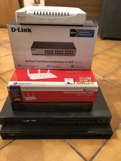 Stok router switch Cisco