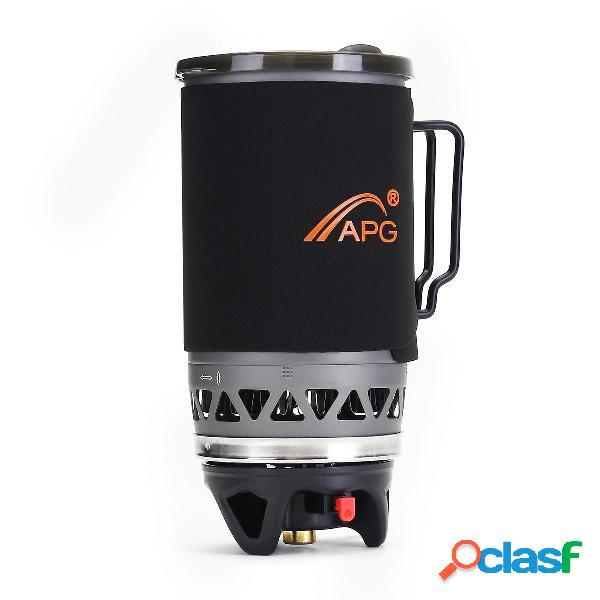 Stufa a gas a gas propano APG 1400 ml Fornello a coppa per