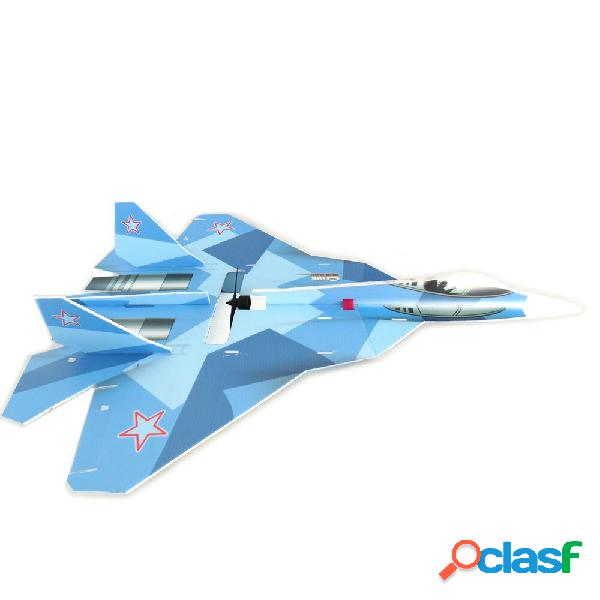 T-50 5mm PP 740mm Wingspan DIY RC Airplane Drone Scala KIT