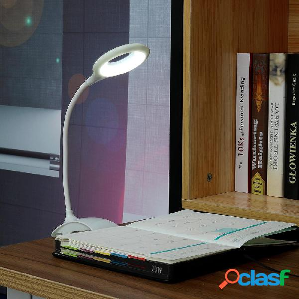 USB LED Lampada da lettura Morsetto a clip Tavolo da