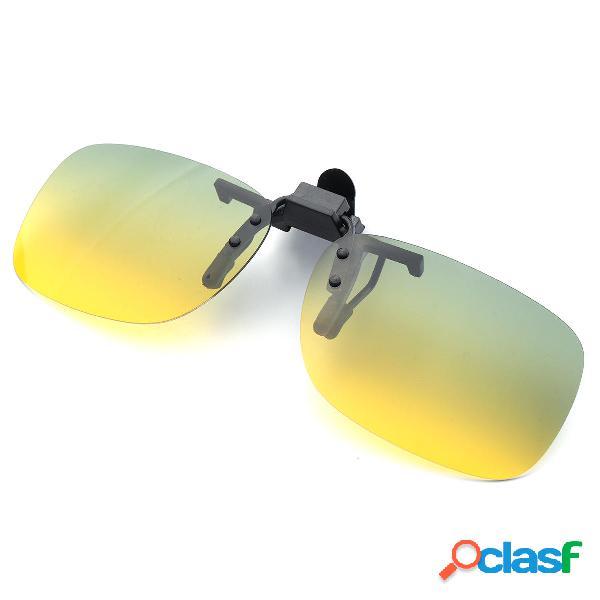 UV400 Occhiali da sole polarizzati Clip di guida Occhiali da
