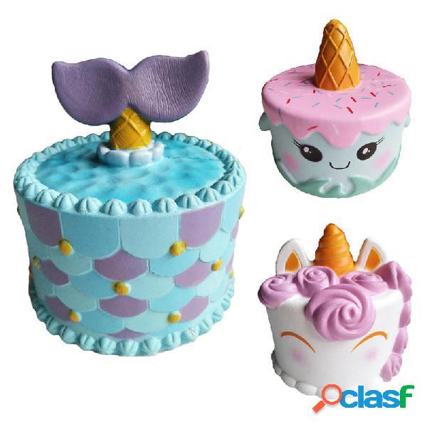 Unicorn Jumbo Squishy Super Soft Giocattolo per bambini in