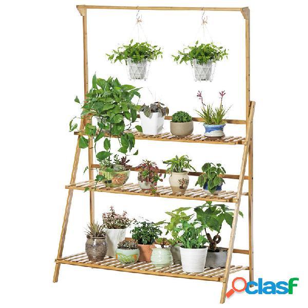 Vaso per fiori con supporto per piante Display Scaffale