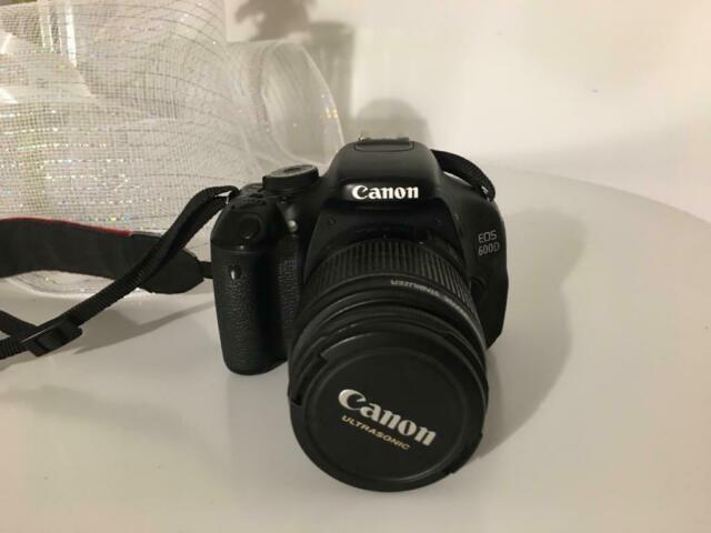 Vendo Canon Eos 600d