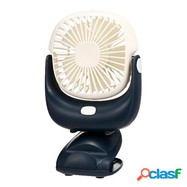 Ventilatore USB da tavolo con ventola regolabile da 5
