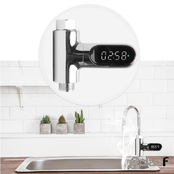 [Versionediaggiornamento]V2Docciaad acqua Termometro LED