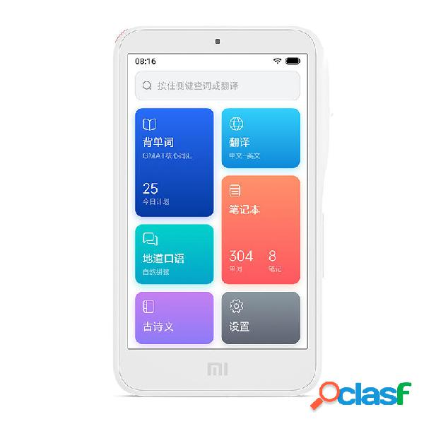 XIAOMI AI Traduttore 4G Hot Spot 4 pollici Touch Screen