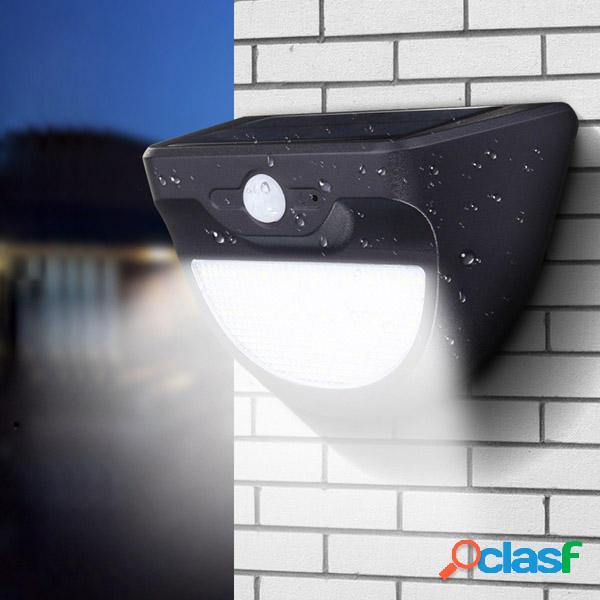 solare Powered 37 LED Lampada da parete con sEnsore radar