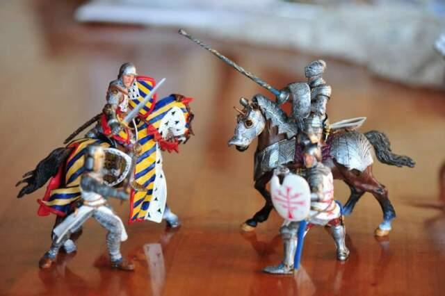 Papo - 4 medievali serie prestige