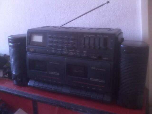 Radio Stereo Elettronica Rex RRS72 con 2 casse