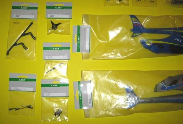 Ricambi originali per elicottero Esky Lama V3 e V4