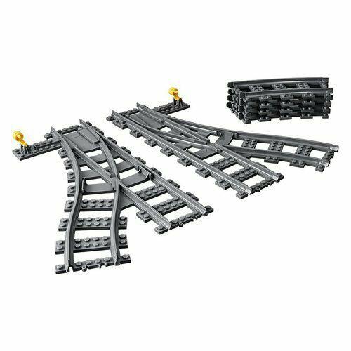 Aggiungi gli Scambi LEGO® City  ai i binari del treno