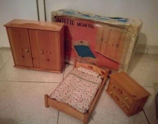 Camera da letto in legno barbie