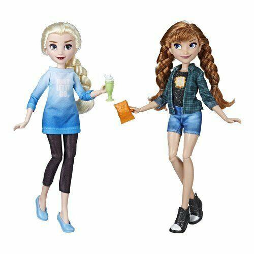Hasbro - Bambola Elsa e Anna Principesse EESO