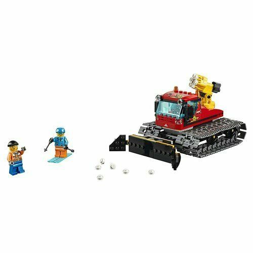 Include 2 minifigure LEGO City: uno sciatore e il conducente