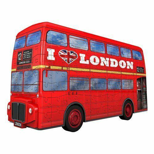 Ravensburger - Puzzle 3D London Bus