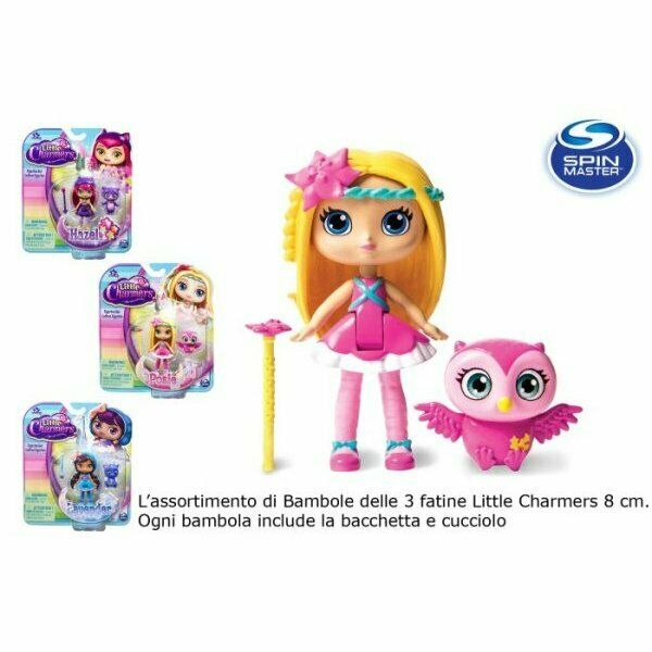 Spin little charmers bambola cm.8