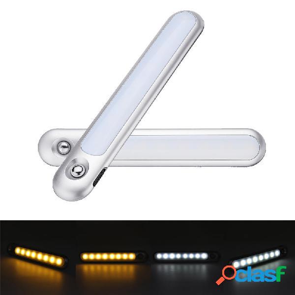 1.6W PIR Sensore di movimento e luce Touch Control Bianco /