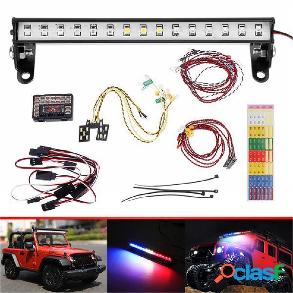 1 Set luce a led per 1/10 RC Car Crawler Traxxas TRX4 Ford