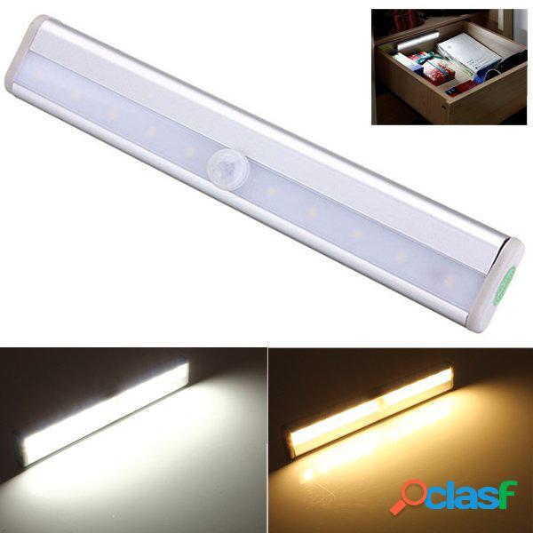 10 LED luce del sensore di movimento del pir da gabinetto