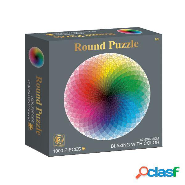 1000 pezzi Colorful Giocattolo educativo per la