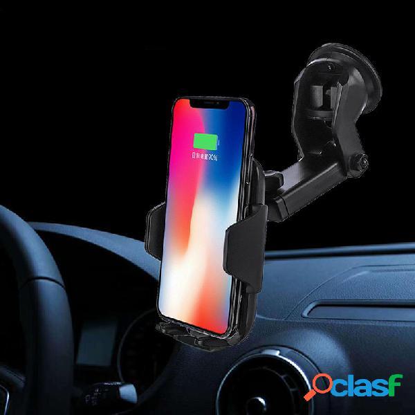 10W Qi Sensore a infrarossi a carica veloce senza fili Auto