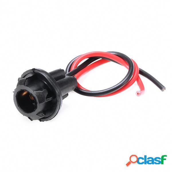 10pcs T10 Dashboard presa di corrente Plug LED Motociclo a