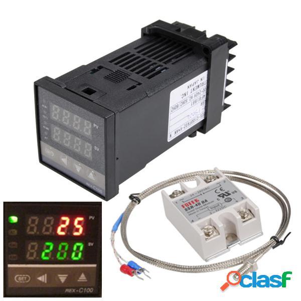 110-240 V 0 ~ 1300 ℃ REX-C100 Funzione di allarme del kit