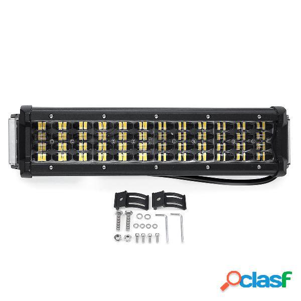 12 Pollici 64W LED Barra luminosa da lavoro 4WD Quad-Row