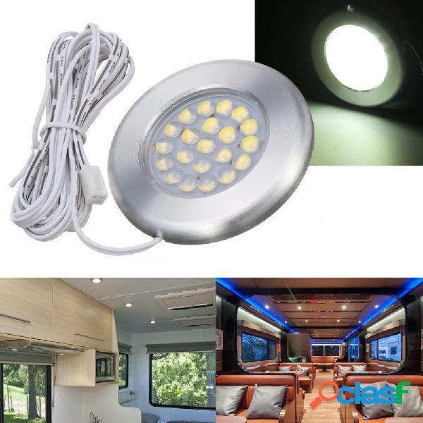 12V 21 LED Plafoniera Spot lampada per Caravan Camper Van