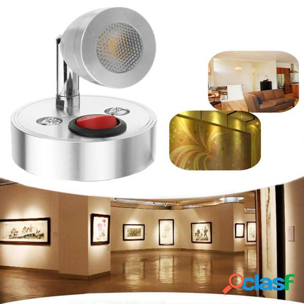 12V 3W Interno LED Spot Lettura lampada con interruttore per