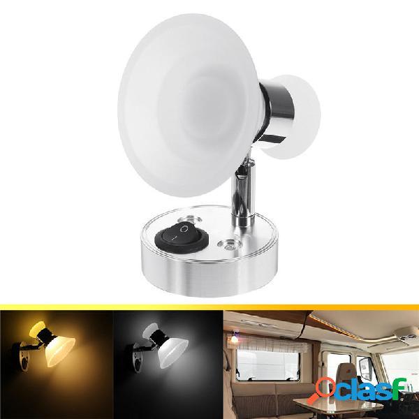 12V Wall lampada Lettura lampada Faretti ad angolo