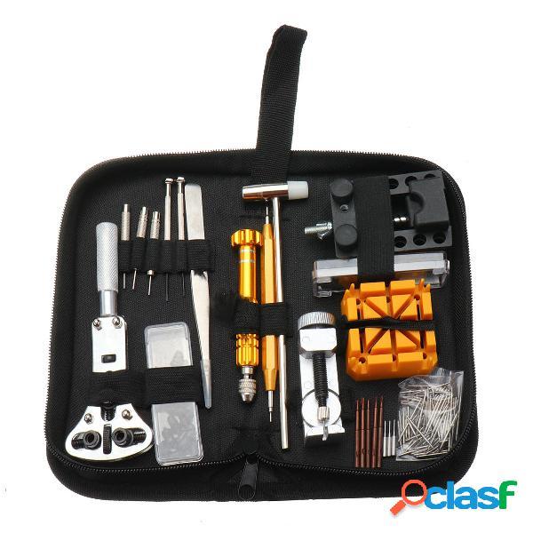 148Pcs Set di strumento di riparazione Orologio Orologio Kit