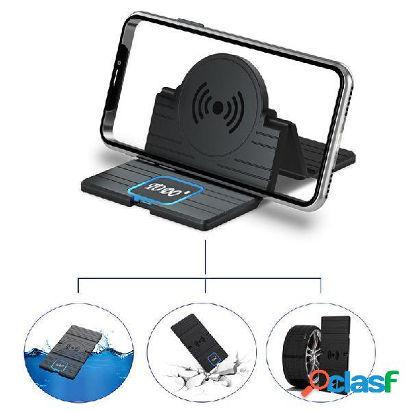 15W Qi Supporto da auto per telefono con supporto per