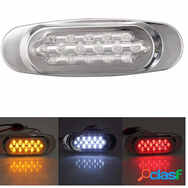 16 LED indicatore laterale spia per il camion bus camion