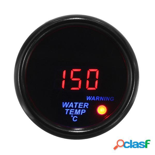 2 52mm 20-150 ℃ Indicatore temperatura acqua digitale LED