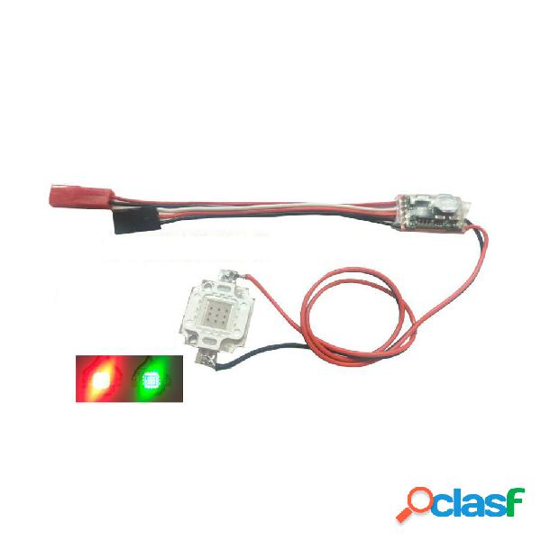 2-6 S 10 W Flash LED Night Light Strip lampada Rosso Verde