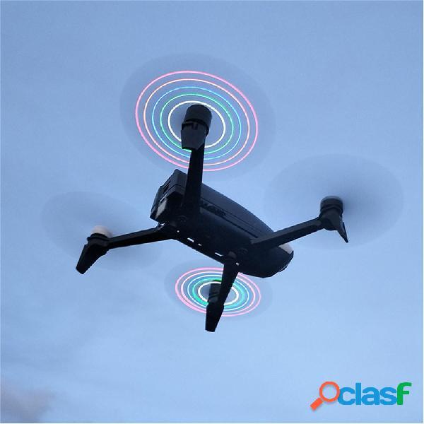 2 PZ LED Flash Elica per Parrot Bebop 2 RC Drone Quadcopter