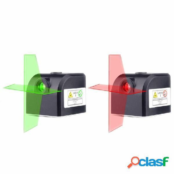 2 linee Infrarosso rosso Laser Linea orizzontale verticale
