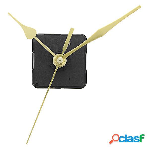 20 millimetri albero Lunghezza oro mani orologio da parete
