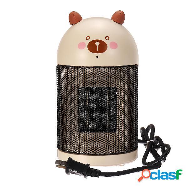 220V 500W Mini riscaldatore da tavolo da tavolo Ventilatore