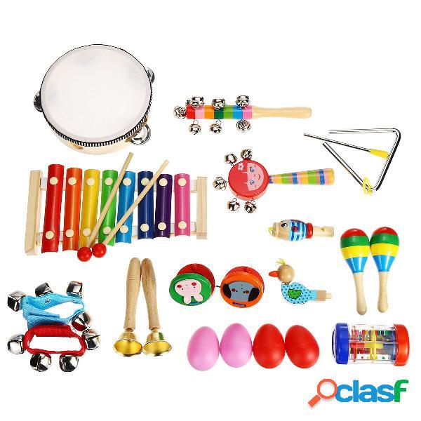 24Pcs / Set Baby Boy Girl Musical Orff Instruments Kit