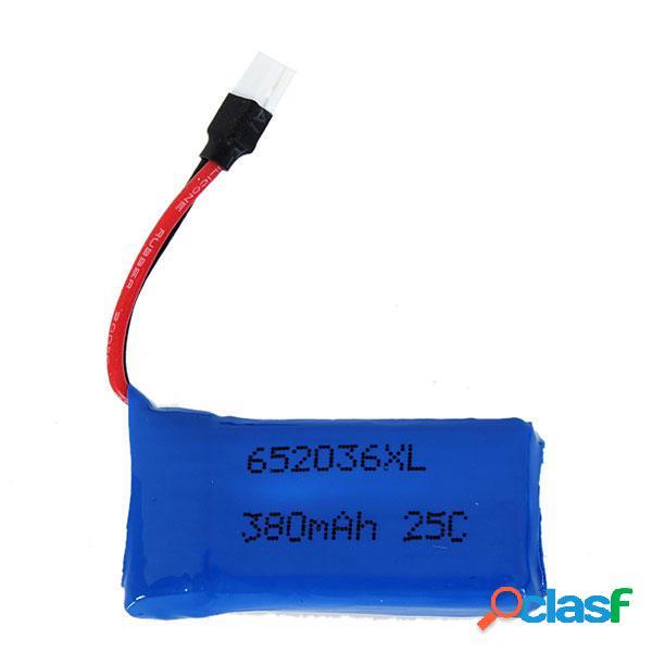 25C 3.7v 380MAH Batteria Aggiornata per Hubsan x4 H107