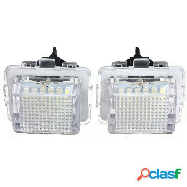 2x 18 SMD LED luce numero di targa per benz W204 W221 W212