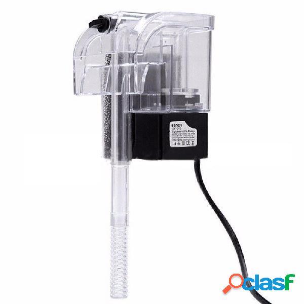 3 in 1 filtro per acquario Pompa di circolazione di ossigeno