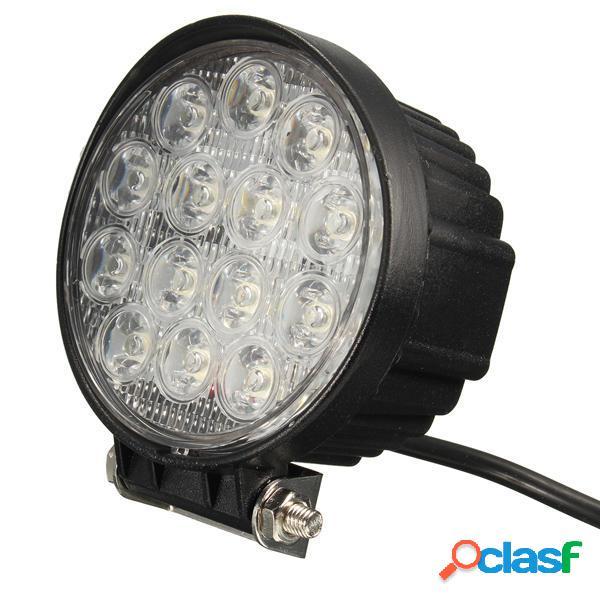 4.5 Pollici 42W LED Barra Lightt Work Spot per camion SUV