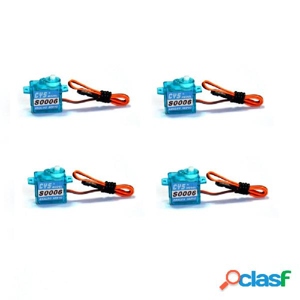 4 PCS CYS-S0006 1,2 kg analogico 6g micro Servo per mini