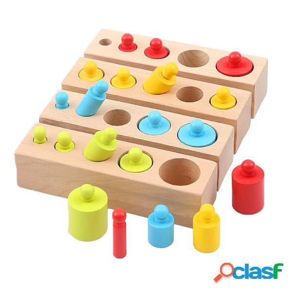 4 pezzi blocchi giocattolo per bambini bambino giocattolo