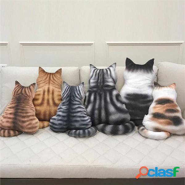43cm Cute Cat Soft Peluche Posteriore Ombra Giocattolo