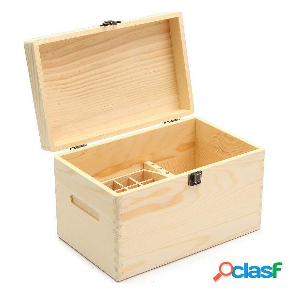 47 Slot Wooden Essential Olio Archiviazione bottiglie